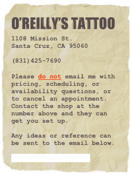 O'Reilly's Tattoo